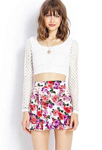 Garden Girl Skirt | FOREVER21 - 2000126907