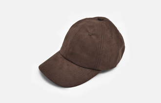 hat brown suede baseball cap suede baseball cap suede cap