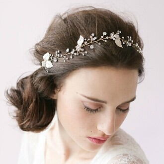 hipster wedding wedding accessories headband hair accessories head jewels pll ice ball