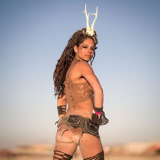 hair accessory burning man burning man clothing burning man costume top nude top lace top crop tops belt festival music festival