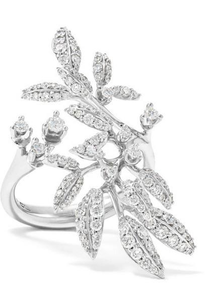 OLE LYNGGAARD COPENHAGEN - Winter Frost 18-karat White Gold Diamond Ring