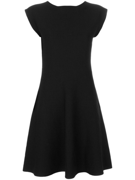 Issey Miyake Cauliflower dress swing dress women midi black