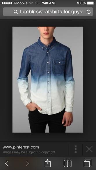 shirt denim shirt guys
