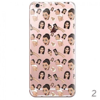 phone cover trendy kim kardashian iphone cover fashion style iphone case girly teenagers boogzel