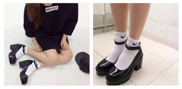 shoes cleated sole tumblr platform shoes rockabilly tumblr girl tumblr shoes nike goth kawaii lolita grunge soft ghetto punk 90s style cleated sole platforms
