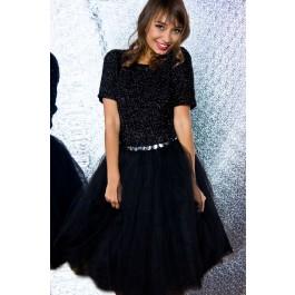 Black tutu skirt