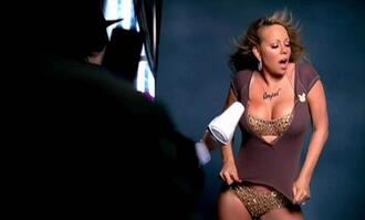 swimwear bikini mariah carey video clip gold
