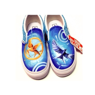 shoes the hunger games vans cute printed vans