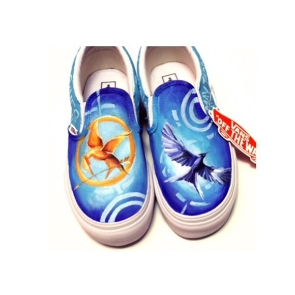 the hunger games cute shoes vans