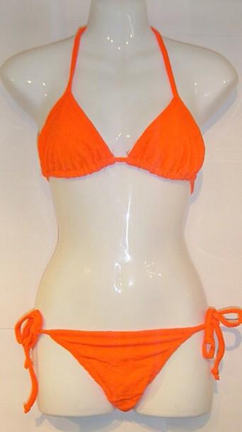 swimwear orange
