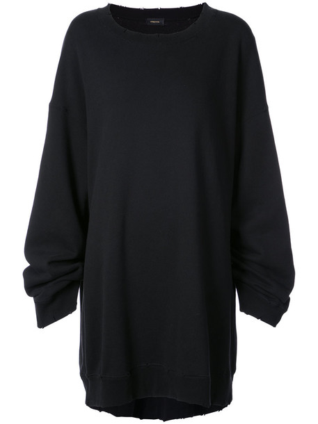 UNDERCOVER sweater oversized women cotton black