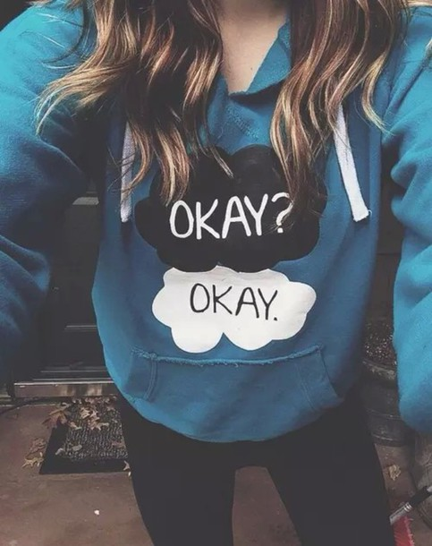 sweater the fault in our stars valentines day gift idea love quotes