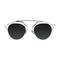 So real zonnebril zwart/zilver