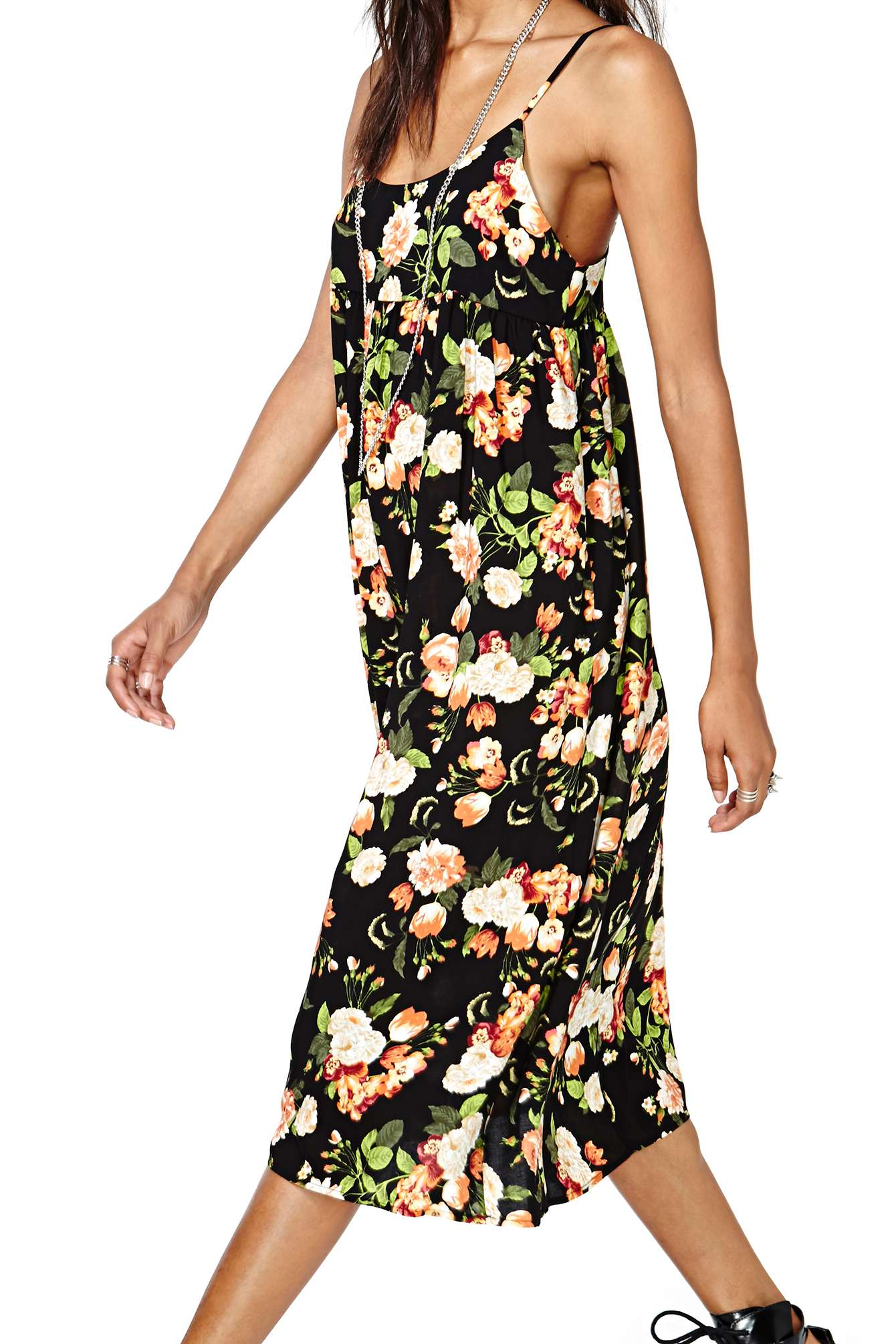 Romp in the Roses Maxi Dress