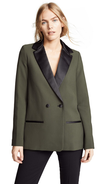 blazer green jacket