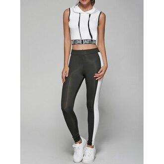 top sporty sportswear grey white crop tops rose wholesale