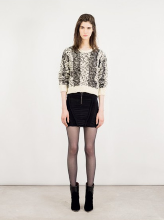 shoes skirt sweater lookbook fashion iro