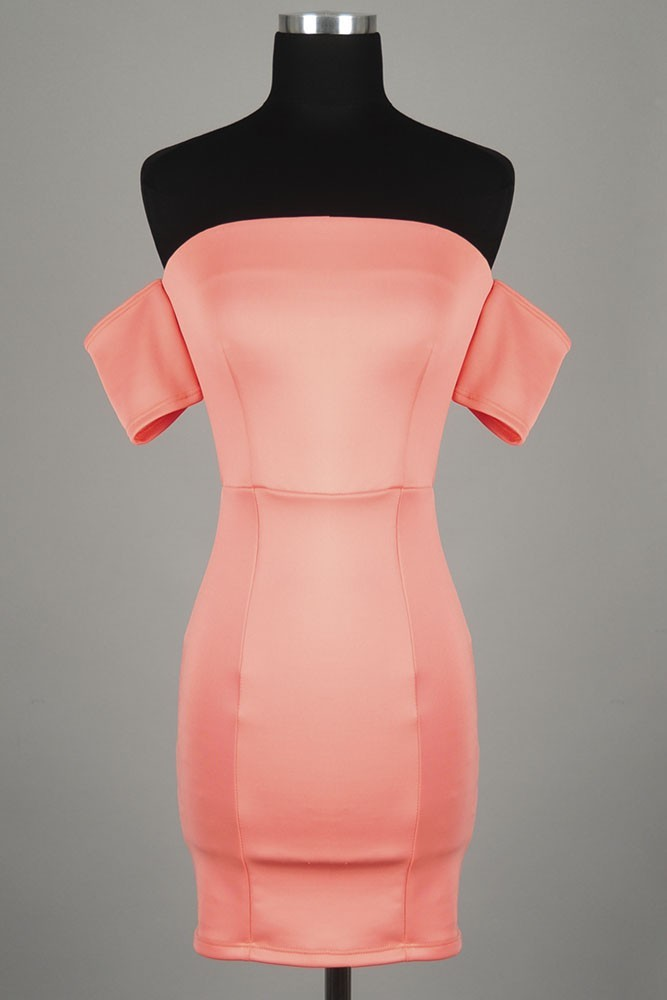 Structured fit bodycon dress