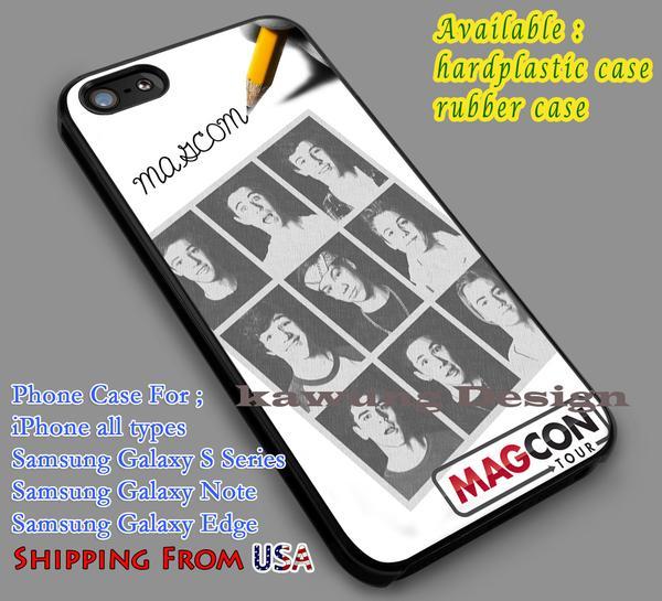 Pencil Sketch Magcon Boys iPhone 6s 6 6s  5c 5s Cases Samsung Galaxy s5 s6 Edge  NOTE 5 4 3 #movie #MagconBoys dl6