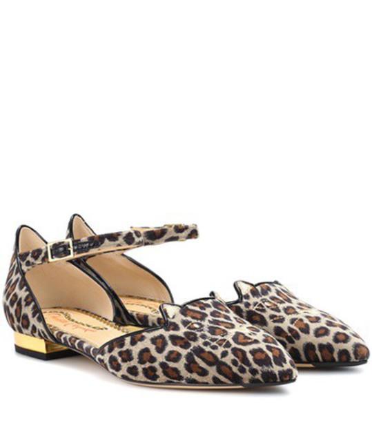 velvet brown shoes