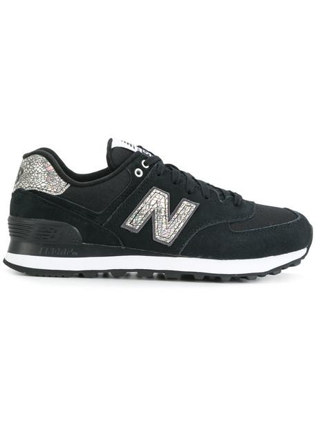 New Balance women sneakers blue suede neoprene shoes