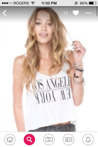 top la new york city new york shirt los angelas