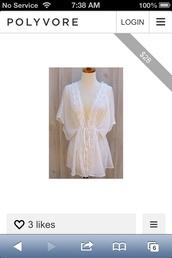 top,kimono,swim cover up,tunic,sheer