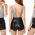 Womens Girls High Waist Punk Rock Zipper Faux Leather Slim Fit Shorts Hot Pants | eBay