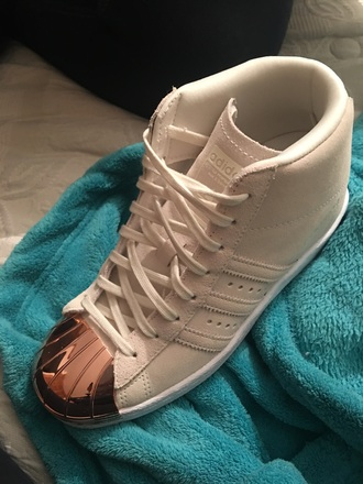 shoes superstar metal toe adidas superstars high top sneakers adidas nude sneakers