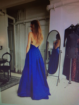 dress long prom dress long dress blue dress open back prom dress open back dresses maxi dress royal blue dress gown