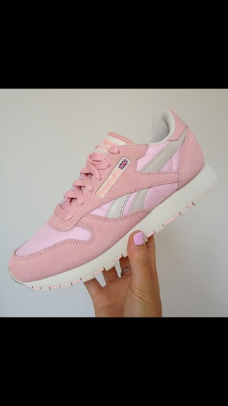 shoes reebok girly hot tumblr black pink wild idc idk style girl forever hill nude