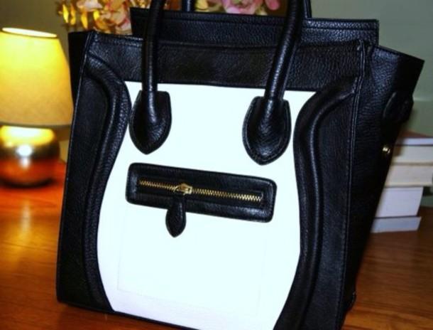 Bag: black, look alike celine - Wheretoget