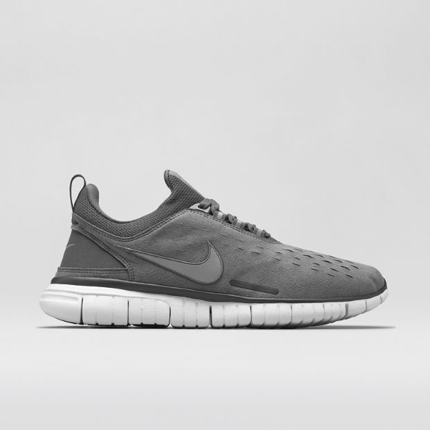 Cheap Nike Free Flyknit Chukka Dark Grey Platinum