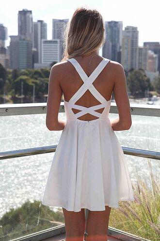 dress white prom prom dress summer summer dress