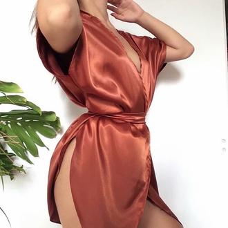 pajamas satin nude sexy nightwear
