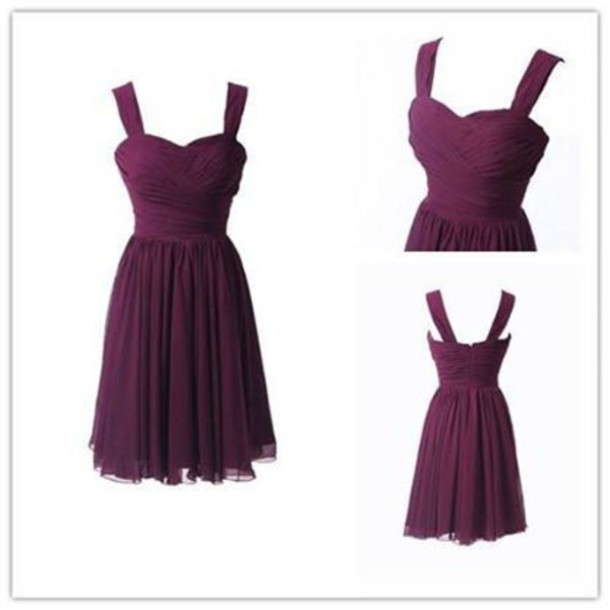 dress short bridesmaid dresses burgundy bridesmaid dress bridsmaid dreses
