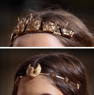 hair accessory cute hair hair band long hair brown headband head jewels headpiece gold headband gold bronze jewels jewelry gold jewelry fashion style accessories accessory jewel acessories gold accessory jewelry acessories acessory