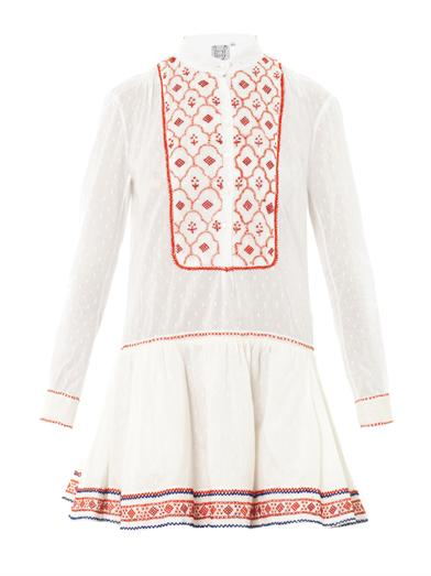 Lizabeth embroidered dress | Thierry Colson | MATCHESFASHION.COM