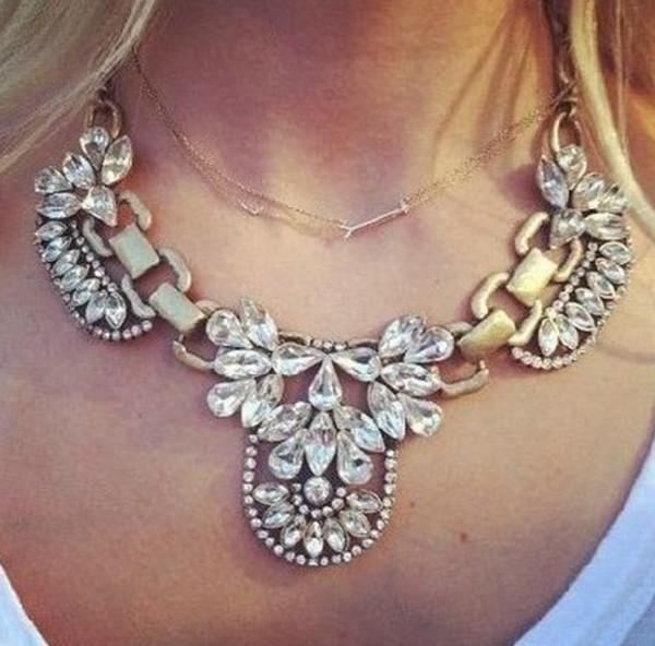 jewels necklace jews crystal
