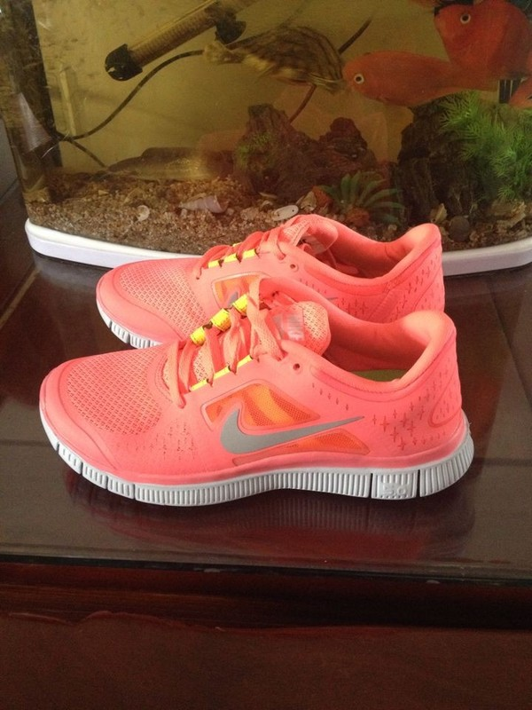 2013 New Arrival Nike Free 5.0 V3 Womens Running Shoes Pink/Grey