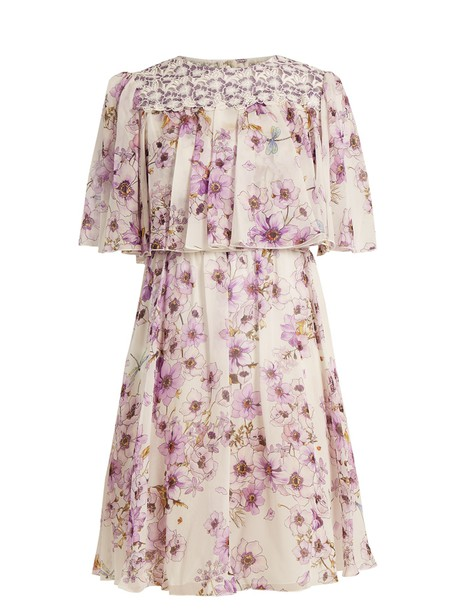 GIAMBATTISTA VALLI dress print silk