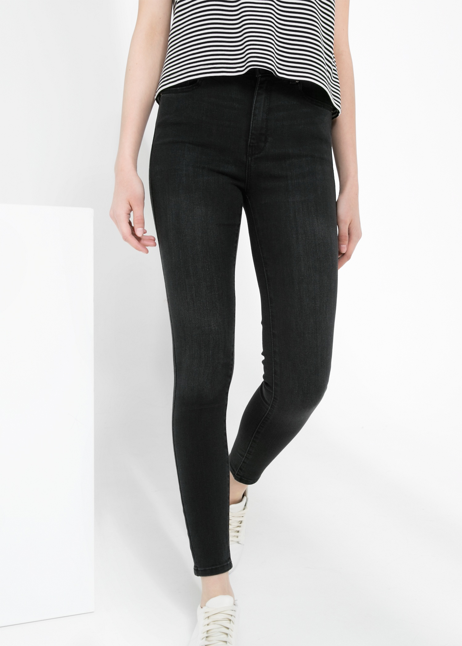 High waist broadway jeans - Jeans for Women | MANGO