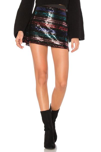 devlin skirt black