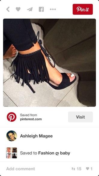 shoes black heels high heels cute high heels