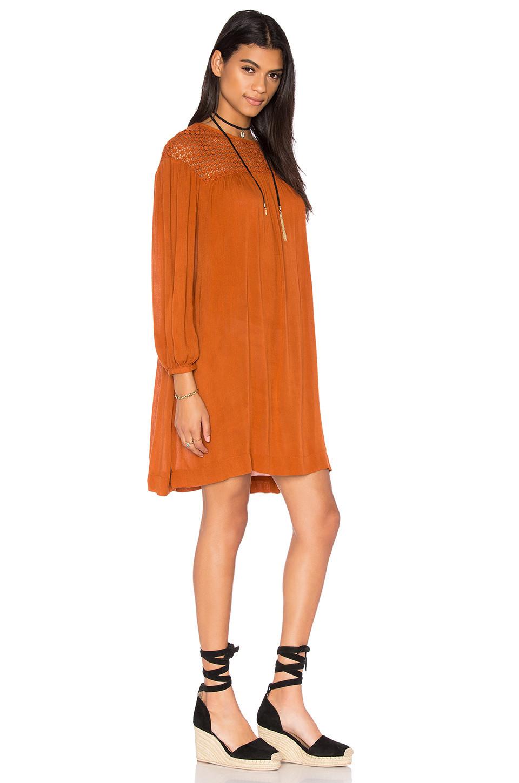 1919baec408 Demylee Harley Sweater Dress - Dark Brown - Wheretoget