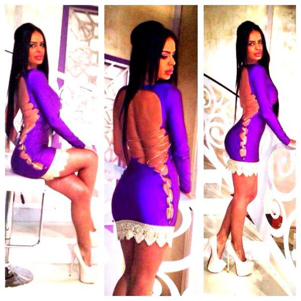 dress: lace, sexy, girly, skirt, shoes, purple dress, purple prom