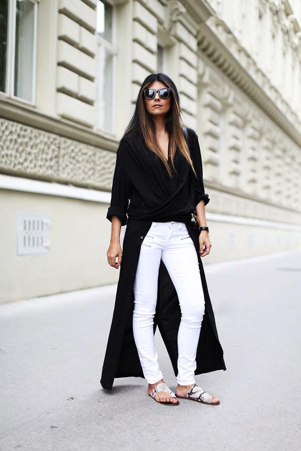 fashion landscape blogger shoes sunglasses jeans bag