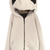 ROMWE | Panda Shaped Hooded Zippered Elastic Cream Coat, The Latest Street Fashion