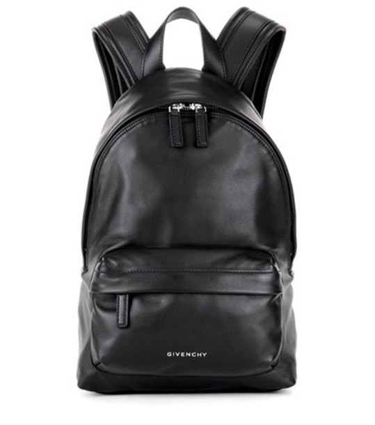 Givenchy mini backpack leather backpack leather black bag
