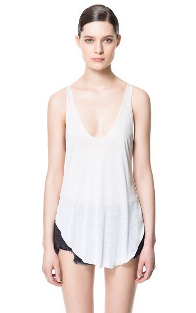 DÉBARDEUR - T-shirts - Femme - ZARA France